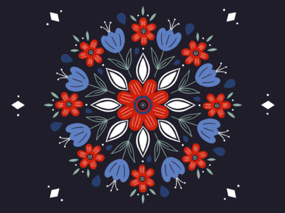 Flower Pillow Design