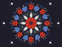 Flower Pillow Design
