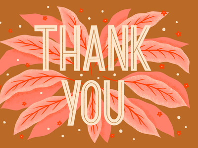 Thank you hand lettering art design type typography illustration hand lettering thank you card thanks thank you