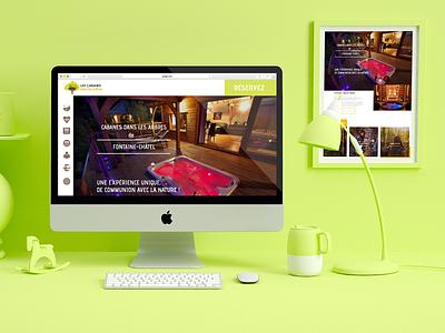 Mockup web website webdesigner webdesign web site design mockup ux ui illustrator graphique design site homepage