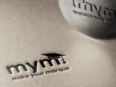 MYM Logo graphic design branding brand design logo