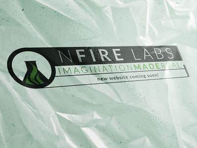 NFire Labs Logo graphic design branding brand design logo