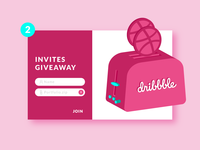 Dribbble Invites | Giveaway