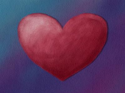 King Of Hearts - heart element digital painting illustration love valentine heart