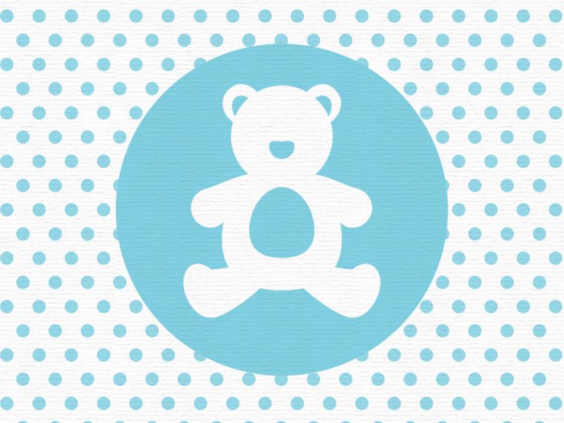 Little Ones Bear teddy bear baby shower illustrator illustration