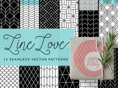 Line Love Pattern Collection