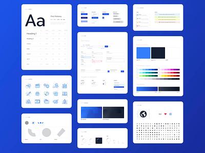 Prezi Design System library minimal visual identity branding styleguide guidelines design system animation design ux ui prezi
