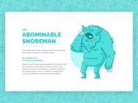Beasts of Boredom - Abominable Snoreman