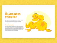 Beasts of Boredom - Bland Ness Monster