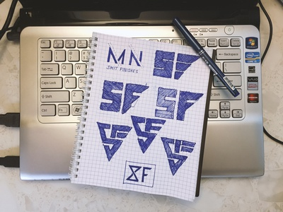 The Sketch of the logo for Smit