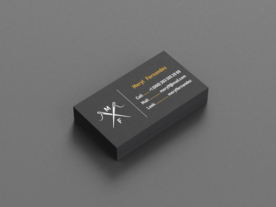 The Business card and the Needle logo business card template business card mockup business card design business card businesscard lihes needles ca california handmade coaster logo simple logo stamp leather handdraw mf thread stitch sew needle
