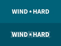 WindHard logotype words