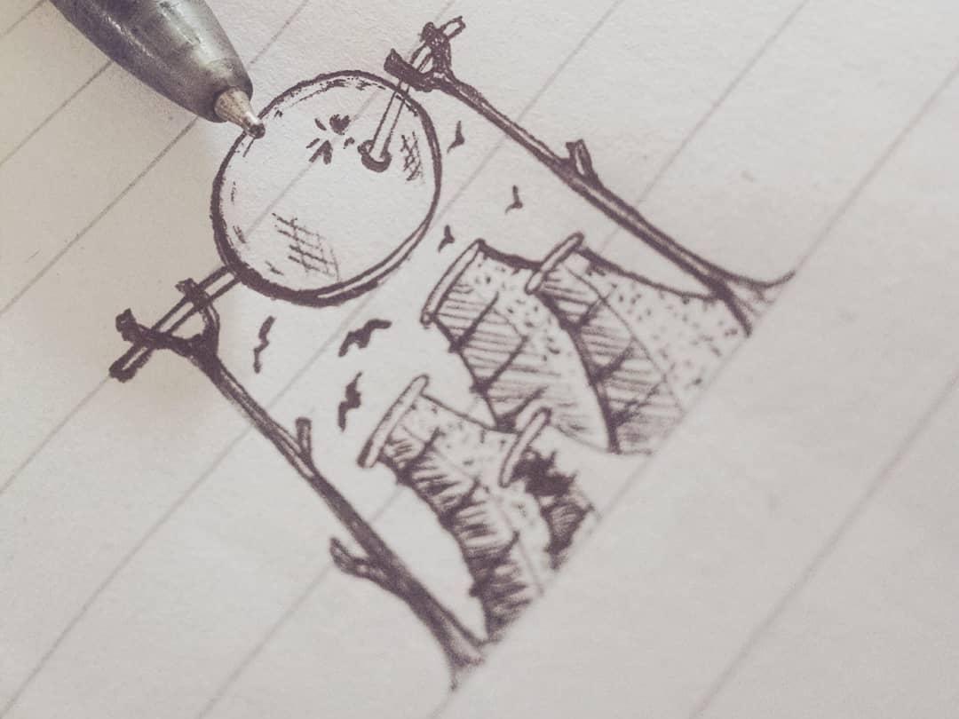 What did I do? illustrator sketching sketch design art pen and paper ballpen pen concept design concept art conceptual concept illustration design illustration art illustration