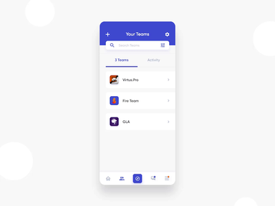 DatiGam - Social Network - Page of Your Teams