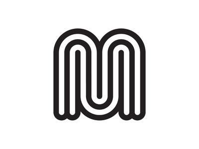 MM mark lettering mm identity branding logo