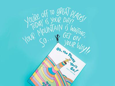 Dr. Seuss Social  book quotes book dr. seuss social media typography lettering
