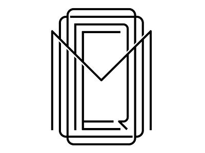 """MOORE"" monogram typography type line art moore monogram lettering"