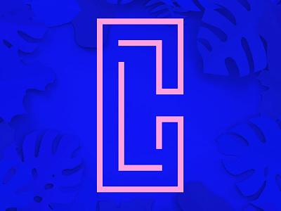 CL Logo identity branding logo casey latiolais
