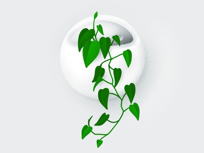My Plants: Jasper ipad pro apple pencil procreate philodendron hand-drawn illustration plants plant