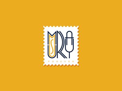 Murray illustration custom type custom letters lettering typography type stamp msu murray