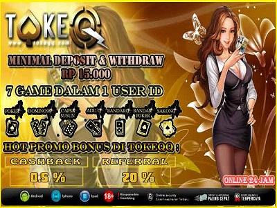 Tokeqq.com Situs Judi Online Poker dan Domino Terpercaya !!! capsa susun agen dominoqq situs bandarq situs judi online tokeqq