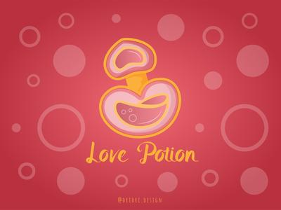 Love Potion potion love potion love design icon branding logo vector