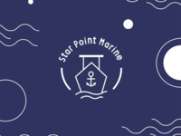 Boat logo - Star Point Marine