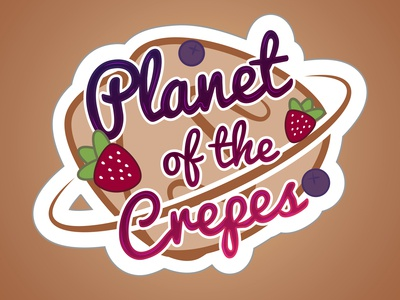 Food Truck - Planet of the Crepes