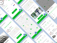 Wheelo. A modern transport app for the modern city