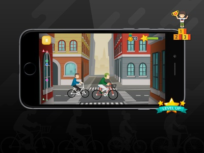 Cycle Ride Game Application