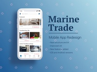 iOS App Redesign: Yacht Retail