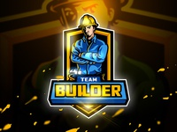 Builder - Mascot & Esport logo