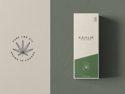 Kahlm CBD Oil Packaging