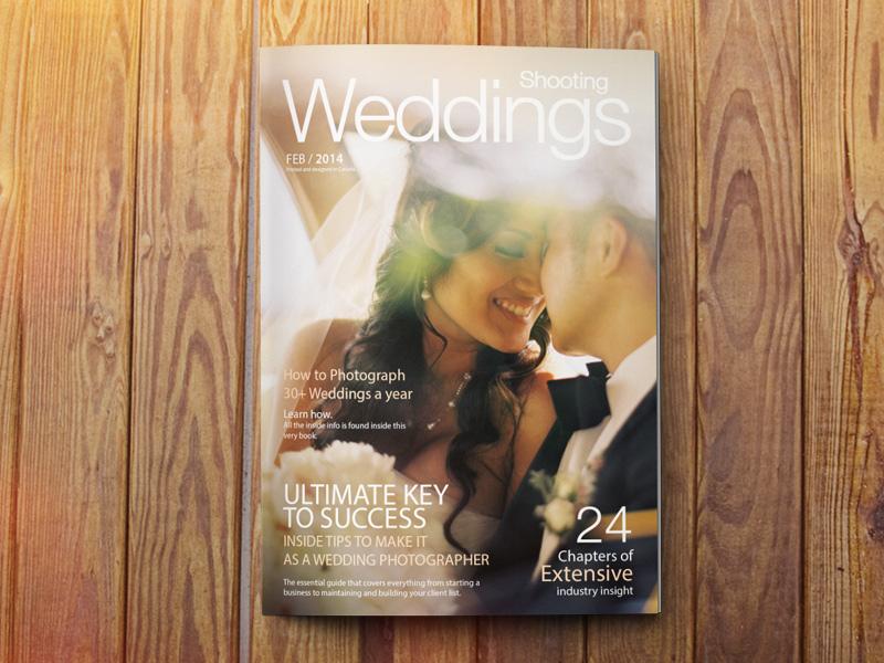 Shooting Weddings photography wedding book magazine design wood tips photographer success
