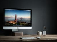 Yyz Design Office display dark imac minimalistic desk interior office workspace san francisco