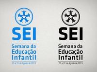 SEI logo 'monochrome stack'