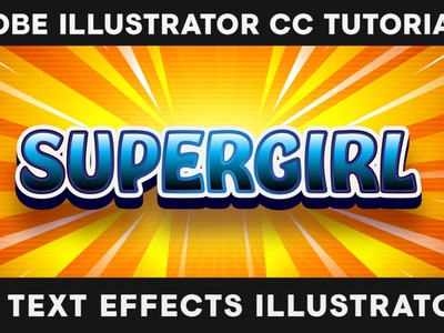 How to Create 3D Bold Hero Text in ILLUSTRATOR - text effect tutorials 3d text effects graphic design tutorials adobe illustrators for beginners adobe tutorials master course adobe illustrator cc facilito learn online adobe illustrator illustrator tutorials text effects