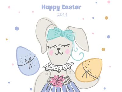 Easter rabbit ai2