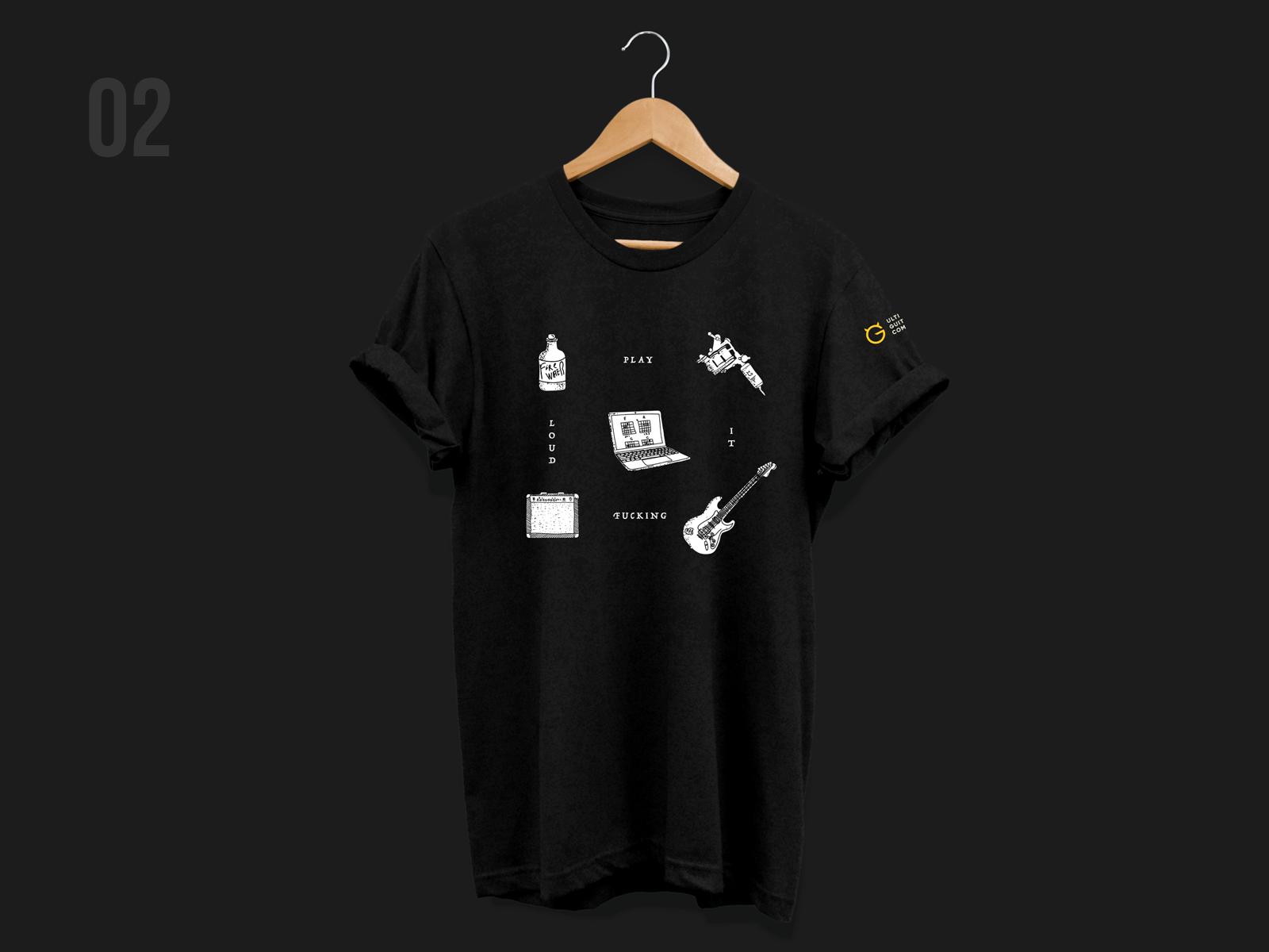 Ug tshirt print02