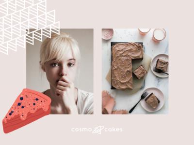 cosmo cakes branding