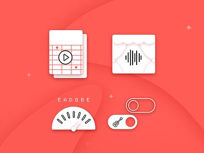 Premium access marketing sale metronome stage play guitar music splash icon access pro premium