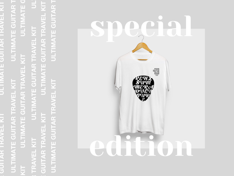 Travel Kit | Special Edition kit identity branding mediator pic minimalism pure summer tshirt travel