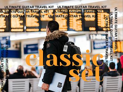 Travel Kit | Classic Set branding identity classic mark sticker kit travel