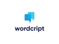 Wordcript  |  Brand identity