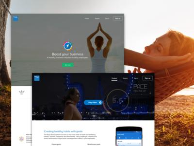 Boost Self-serve portal manager portal boost design