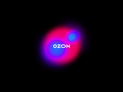Ozon — New product vision ozon holographic rebranding gradient liquid smooth colorful product design animation web clean minimal