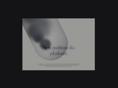 Multimedia Platform Adaptive Animation freebies freebie prototype figmadesign adaptive animation productdesign web ux ui clean minimal