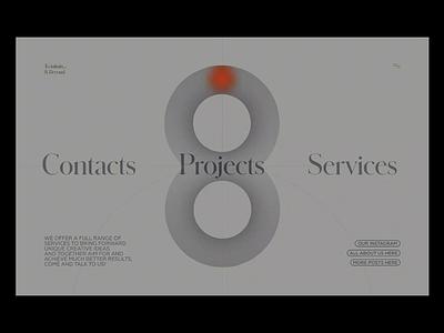 "Loop Animation ""To infinity... & beyond"" adaptive portfolio figma freebie animation productdesign web ux ui clean"
