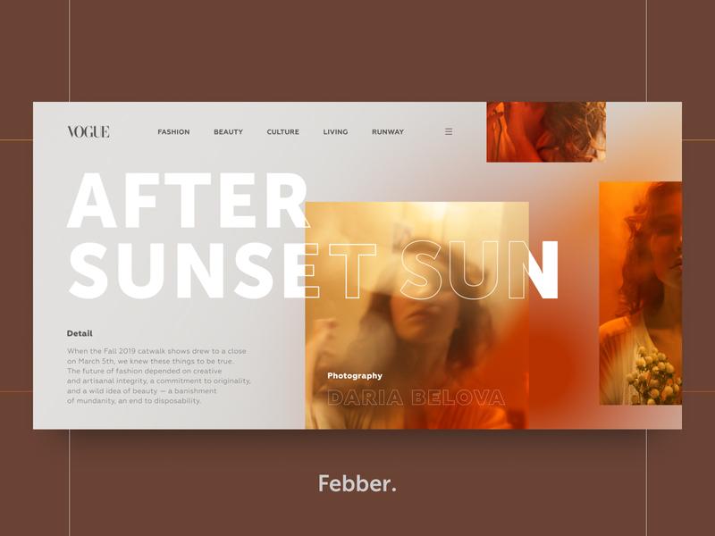 VOGUE - After Sunset Sun