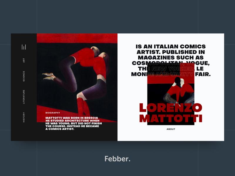 Lorenzo Mattotti - About